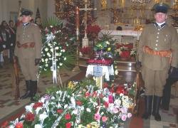 13.01.2014 r. – Brwinów, pogrzeb Józefa Bocheńskiego-2