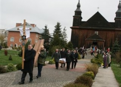13.04.2014 r. - Kowel, pogrzeb Anatola Sulika-4