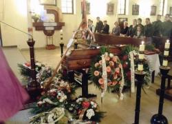 30.04.2014 r. – Sobótka Górka, pogrzeb S. Gorczakowskiego-2
