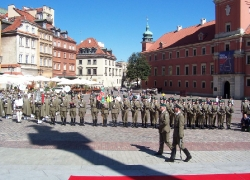 5.08.2014 r. – Warszawa, 10. rocznica utworzenia Nadwiślańskiego Oddziału SG-12