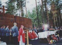 06-09.2000 r. - otwarcie i poświęcenie Polskich Cmentarzy Wojennych-13