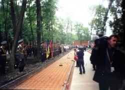 06-09.2000 r. - otwarcie i poświęcenie Polskich Cmentarzy Wojennych-5