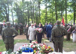 27.09.2013 r. - Włodawa, Wytyczno, 74. rocznica bitwy pod Wytycznem-24
